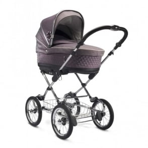 Silver Cross Sleepover 3 in 1 Pram Mulberry