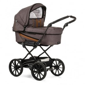 Emmaljunga Edge Duo Combi Pram Outdoor Timber