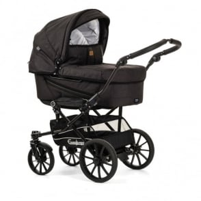 Emmaljunga Edge Duo Combi Pram Lounge Black