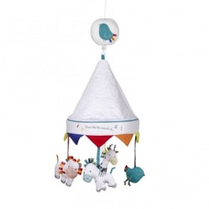 Silver Cross Zoobaloo Musical Cot Mobile