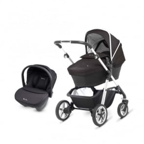 Silver Cross Pioneer Chrome Pram Package