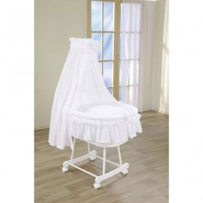 Leipold Damaris Stubenwagen Wicker Drape Crib