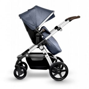 Silver Cross Wave Pram Midnight Blue