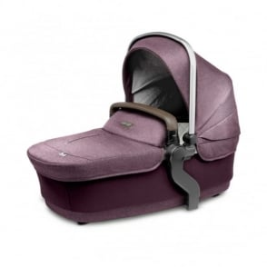 Silver Cross Wave Carrycot Claret