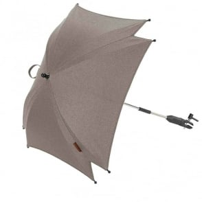 Silver Cross Wave Parasol Sable
