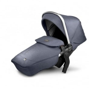 Silver Cross Wave Tandem Seat Unit Midnight Blue