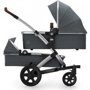 Joolz Geo2 Earth Duo Pram Hippo Grey