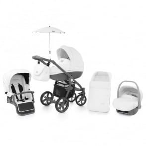 Babystyle Prestige 2 Pram Thunder Cloud - Active Grey Chassis