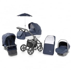 Babystyle Prestige 2 Pram Marlin - Active White Chassis
