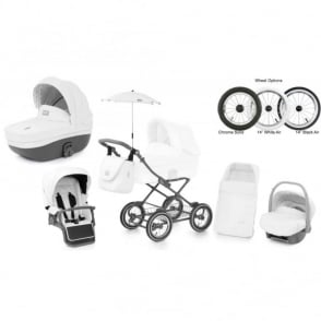 Babystyle Prestige 2 Pram Thunder Cloud - Classic Chassis
