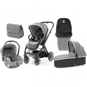 Babystyle Oyster 2 Wolf Grey Special Edition Pram Package