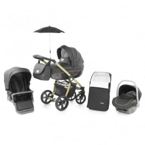 Babystyle Prestige 2 Pram Carbon Gold Special Edition