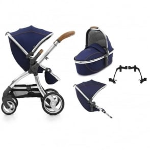 Egg Tandem Stroller with Carrycot Regal Navy