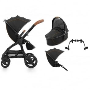 Egg Tandem Stroller with Carrycot Espresso