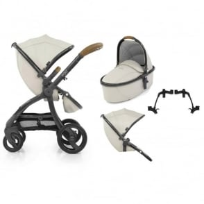 Egg Tandem Stroller with Carrycot Jurassic Cream Special Edition