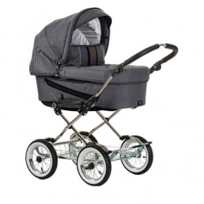 Emmaljunga Edge Duo Combi Pram Lounge Grey