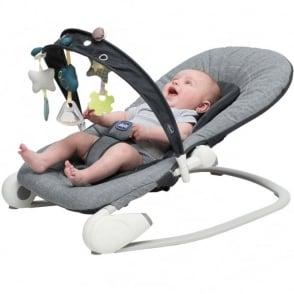 Chicco Hoopla Baby Bouncer Dark Grey