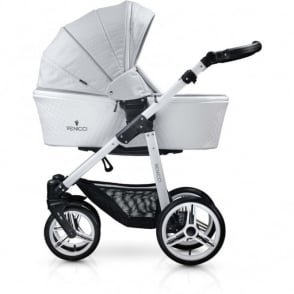 Venicci Pure Leatherette 3in1 Travel System - Stone Grey
