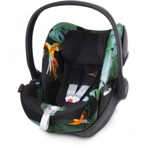 Cybex Cloud Q Fashion Edition Car Seat - Birds Of Paradise