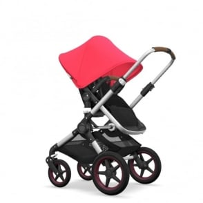 Bugaboo Fox Pram & Pushchair - Neon Red