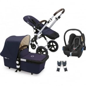 Bugaboo Cameleon 3 Classic+ Pram - Navy With Cabriofix
