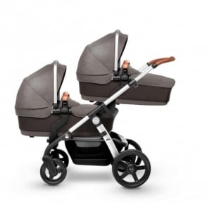Silver Cross Wave Twin Pram Sable