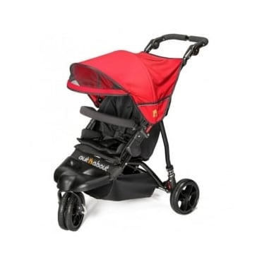 Out 'n' About Little Nipper Buggy Red