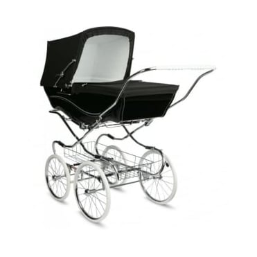 Silver Cross Heritage Kensington Pram Black