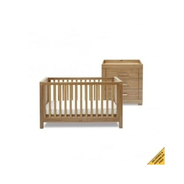 Silver Cross Portobello 2 Piece Nursery Furniture Set
