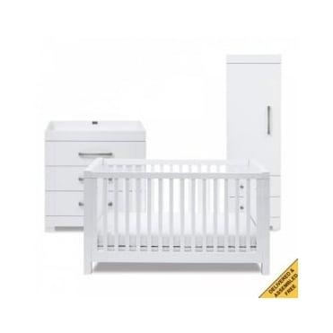 Silver Cross Notting Hill Nursery Furniture Set - Single Wardrobe