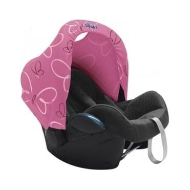 Dooky Hoody UV Protective Car Seat Hood Butterfly