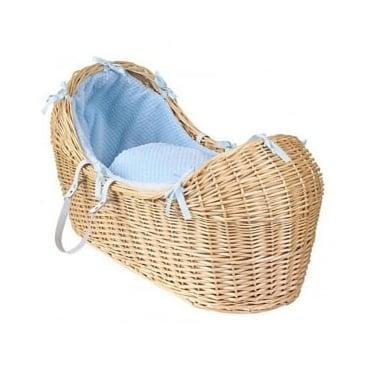 Clair De Lune Honeycomb Noah Pod Natural Wicker Basket