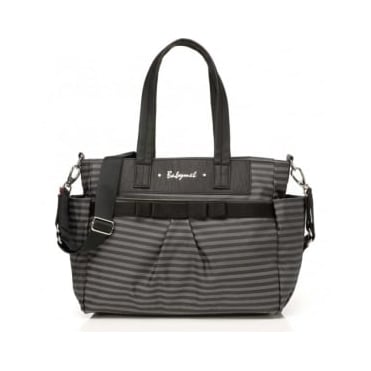Babymel Cara Stripe Grey Changing Bag