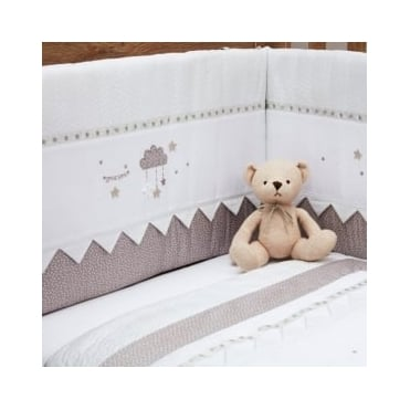 Silver Cross To The Moon And Back Cot Bumper