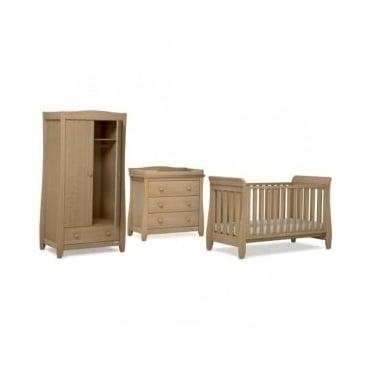 Urbane Sleigh 3 Piece Nursery Furniture Set By Boori