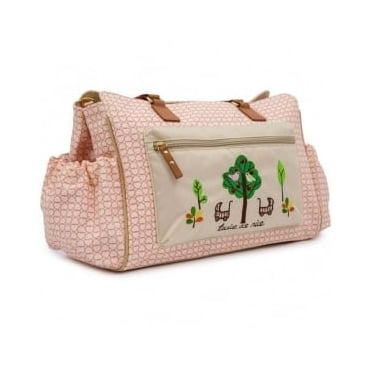 Pink Lining Twice As Nice Twin Changing Bag