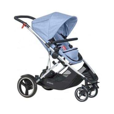 Phil & Ted's Voyager Pushchair Blue Marl