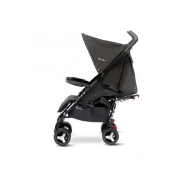 Silver Cross Reflex Stroller Black
