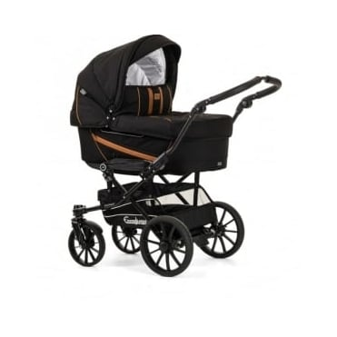 Emmaljunga Edge Duo Combi Pram Outdoor Black