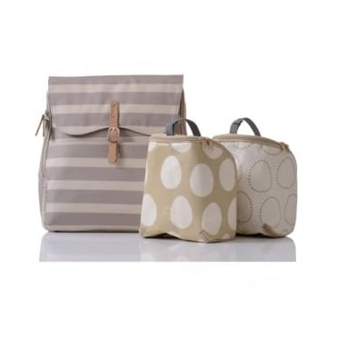 Pacapod Hastings Changing Bag Sand Stripe