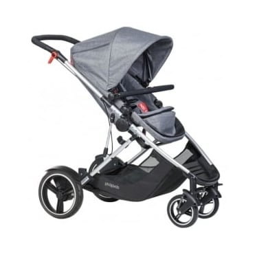 Phil & Ted's Voyager Pushchair Grey Marl