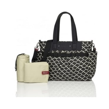 Babymel Cara Wave Black Changing Bag