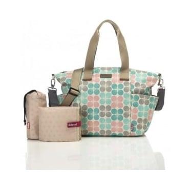 Babymel Evie Pastel Floral Dot Changing Bag