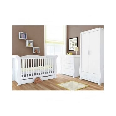 BabyStyle Hollie Furniture Nursery Set Fresh White