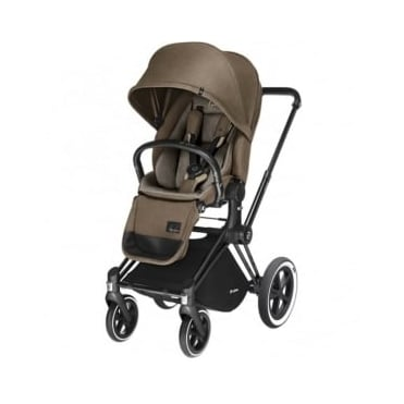 Cybex Priam Lux Seat 3 in 1 Pram Black Chassis