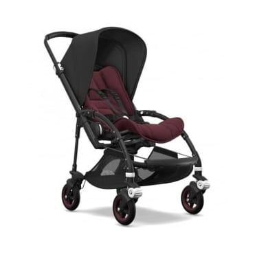 Bugaboo Bee5 Stroller - Black Chassis - Black Canopy