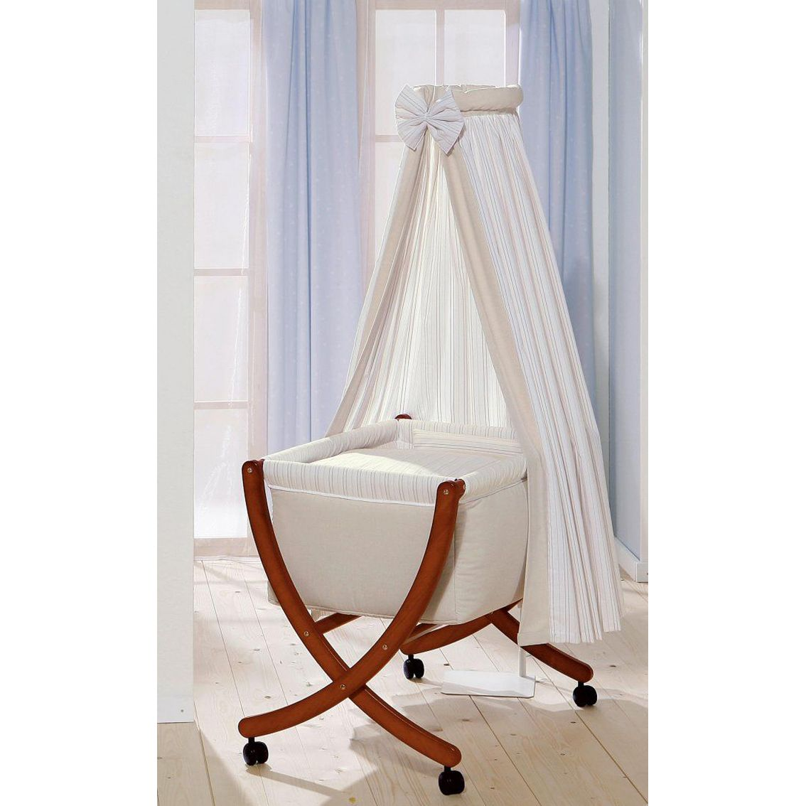 Baby cribs uk online - Leipold Cappuccino Baby Crib