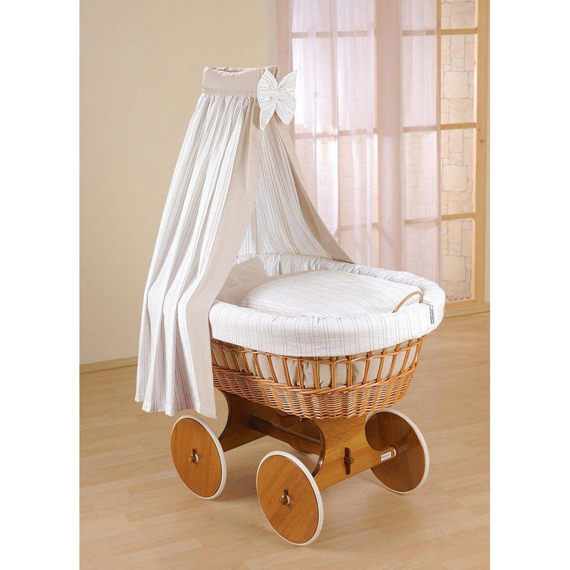 leipold cappuccino bollerwagen drape crib. Black Bedroom Furniture Sets. Home Design Ideas