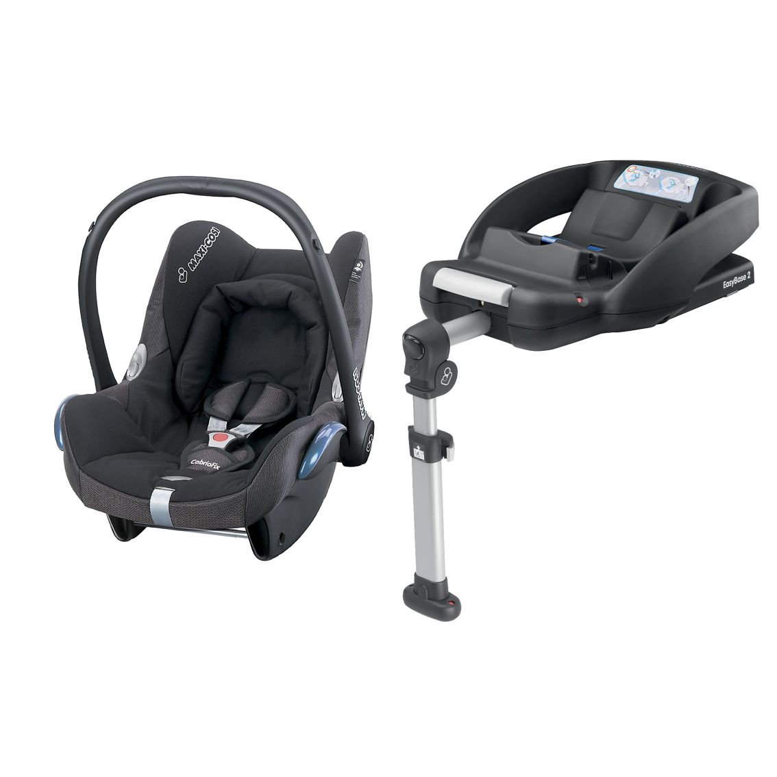 maxi cosi cabriofix car seat with easybase2. Black Bedroom Furniture Sets. Home Design Ideas
