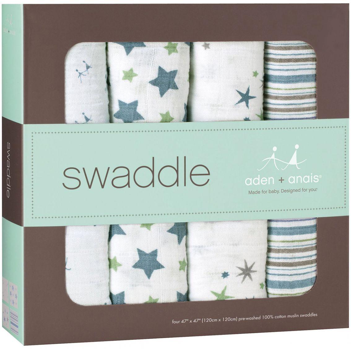 aden anais swaddle blanket prince charming. Black Bedroom Furniture Sets. Home Design Ideas